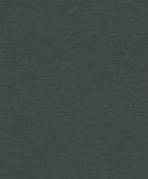Restored 23-227726 Rasch Textil Tapete Vlies Uni grün-schwarz
