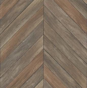 Rasch Textil Restored 23-024006 Vliestapete braun Holzoptik Muster
