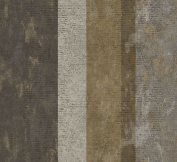 23-107639 Ambrosia Rasch Textil Tapete Streifen olivegrün braun