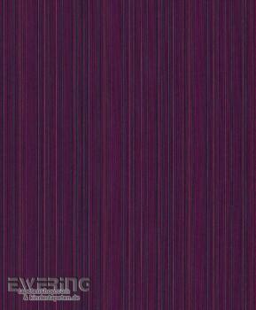 Rasch Textil Cassata 23-077482 Textiltapete Streifen dunkel-violett