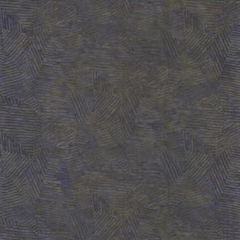 Tapete Jeans-blau Blätter