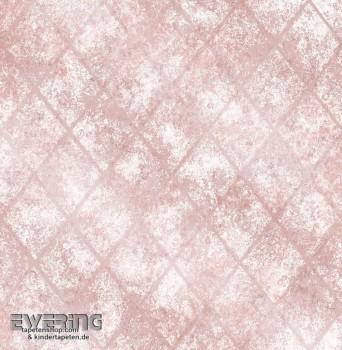 23-022329 Reclaimed Rasch Textil Vliestapete Muster rosa Glanz