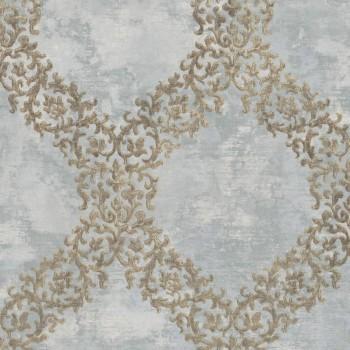 23-109846 Concetto Rasch Textil Vliestapete grau kariert Muster