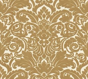 AS Creation Castello 33583-2, 335832 Verzierung Ornamente gold Velour Tapete