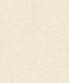 Grandeco Origine 37-OR3302 beige-gray flower ranks non-woven wallpaper