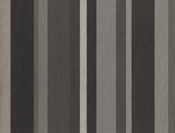 Eijffinger Masterpiece 55-358022, Vliestapete Streifentapete schwarz