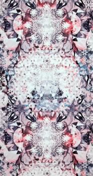 12-218647 BN/Voca Neo Royal Muster-Tapete violett weiß Kristalle