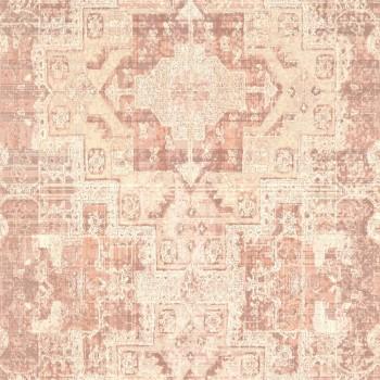 23-148656 Boho Chic Rasch Textil Tapete aprikot Grafikmuster