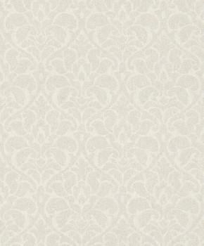Rasch Textil Velluto 23-075037 Textiltapete weiß Esszimmer Ornamente