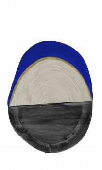 Oval Wandbild Gemälde Tenue de Ville SAUDADE 62-SAUD211601