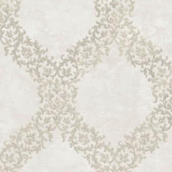 Rasch Textil Concetto 23-109840 Vliestapete Muster hellelfenbein