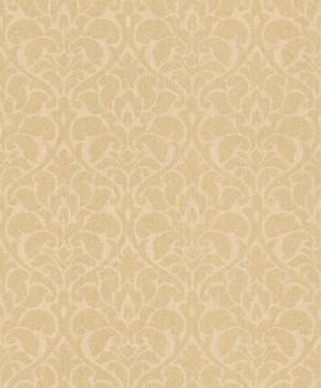 Rasch Textil Velluto 23-075006 Textiltapete gold Wohnzimmer Ornamente