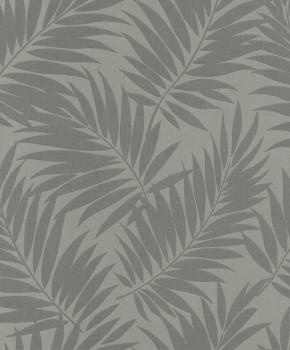 Rasch BARBARA home Vliestapete 7-527568 Wohnzimmer mittel-grau Blätter