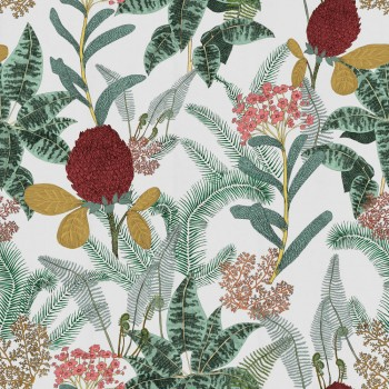 Wandbild Beige Blumen-Dschungel Tenue de Ville SPICE 62-SPID230525