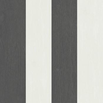 Rasch Textil Skagen 23-021014 Vliestapete schwarz Streifen Wohnzimmer