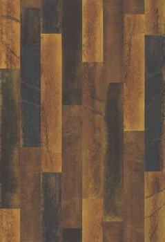 Rasch Textil Restored 23-024047 Vliestapete Holzoptik orange-braun