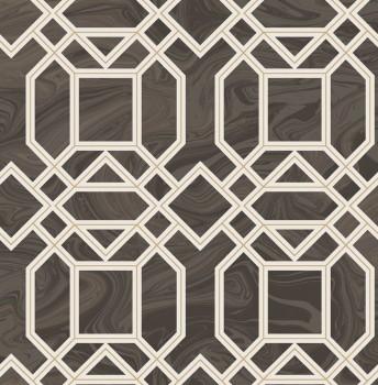 Gravity Rasch Textil 23-024221 Tapete Retromuster kaffeebraun