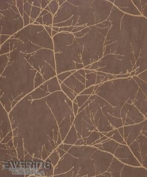 Casadeco - Riverside 2 36-RRS16963511 Ast-Muster braun, Vlies