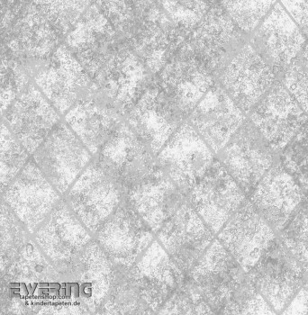 Rasch Textil Reclaimed 23-022326 Vliestapete grau Muster Glanz