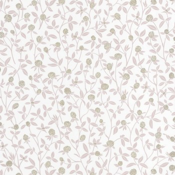 Texdecor Caselio - Hygge 36-HYG100564334 Floral wallpaper old rose gold