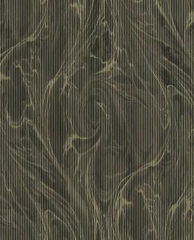 Eijffinger Reflect 55-378048 gold schwarz Marmor Muster Vliestapete