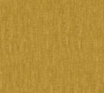 Vliestapete AS Creation Saffiano 33984-7, 339847 senf-gelb Uni meliert