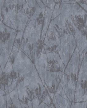 Eijffinger Lino 55-379052 Blumenmuster blau Vliestapete