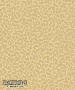 Rasch Textil Cassata 23-077437 beige Textiltapete Leopardenmuster