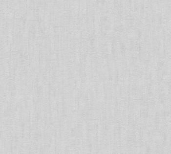 33984-2, 339842 Vliestapete Saffiano AS Creation helles tauben-grau Uni meliert