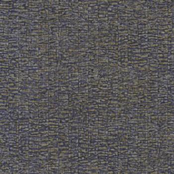 Tapete Dunkel-blau Rindenoptik