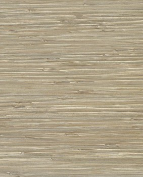 55-389537 Eijffinger Raffiatapete Natural Wallcoverings II silber beige