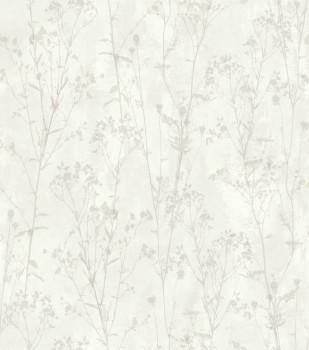 Ylvie 7-802016 Rasch Wohnzimmer Strauch beige Tapete Vlies