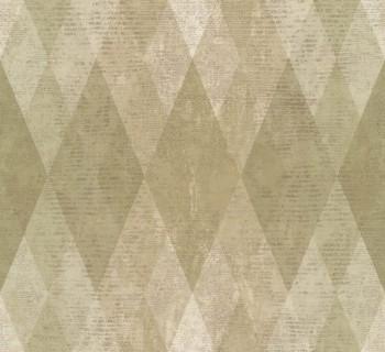 23-107623 Ambrosia Rasch Textil Vliestapete Karo grünbeige