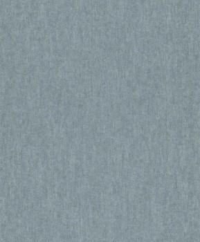 Rasch Textil Restored 23-226446 silber-blau Uni Tapete metallic