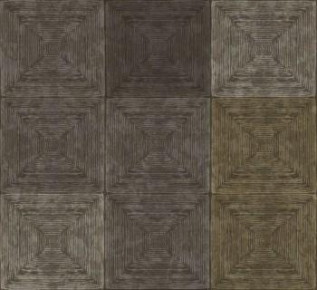 Rasch Textil Ambrosia 23-107659 Mustertapete kariert erdbraun
