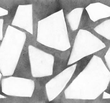 Muster Wandbild Schwarz Weiß 62-SAUD211417 Tenue de Ville SAUDADE