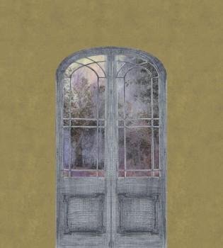Green Door Nature Mural Tenue de Ville ODE 62-ODED191308