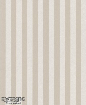 Strictly Stripes 23-361871 Vliestapete hell-beige Streifen