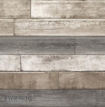 23-022345 Reclaimed Rasch Textil Holzlatten grau Vliestapete