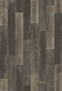 Restored 23-024048 Rasch Textil grau-braun Holzoptik Tapete Vlies