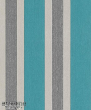 23-362335 Strictly Stripes Meeres-Blau Streifen Vinyltapeten