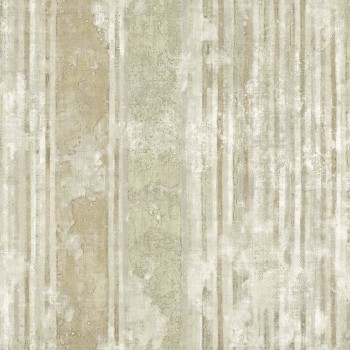 Rasch Textil Concetto 23-109825 Vliestapete grünbeige gestreift