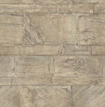 23-024022 Rasch Textil Restored stein-grau Maueroptik Tapete Vlies