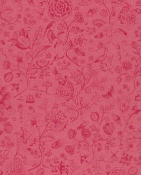 Eijffinger PIP Studio 55-375013, Vliestapete rot Blumen