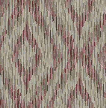 Rasch Textil 23-024220 Gravity non-woven wallpaper red stripe retro