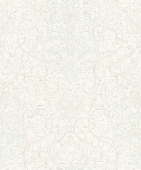 37-OR3301 Grandeco Origine non-woven wallpaper beige tendrils glitter flowers