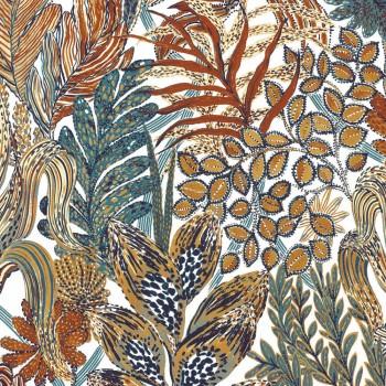 Tapete Bunte Herbstblätter