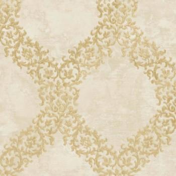 Concetto Rasch Textil 23-109842 Vliestapete Muster elfenbein