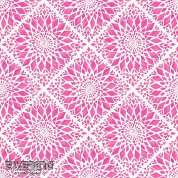 23-148610 Cabana Rasch Textil pink Blüten Vliestapete matt