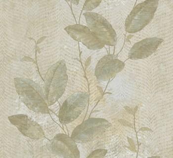 Rasch Textil Ambrosia 23-107646 Blumentapete Ranken grünbeige